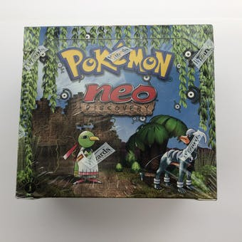 Pokemon Neo 2 Discovery 1st Edition Booster Box (B)