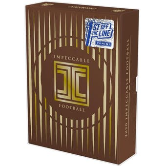 2020 Panini Impeccable FOTL 1st Off The Line Football Hobby Box