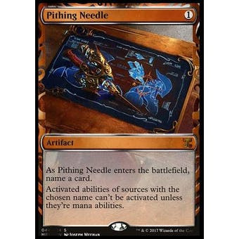 Magic the Gathering Kaladesh Inventions Single Pithing Needle FOIL - NEAR MINT (NM)