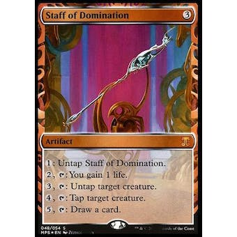 Magic the Gathering Kaladesh Inventions Single Staff of Domination FOIL - NEAR MINT (NM)