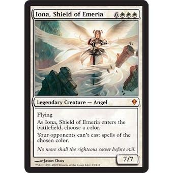 Magic the Gathering Zendikar Single Iona, Shield of Emeria Foil - SLIGHT PLAY (SP)