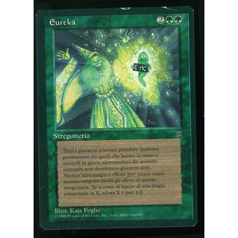 Magic the Gathering Legends Single Eureka ITALIAN -  MODERATE PLAY (MP)