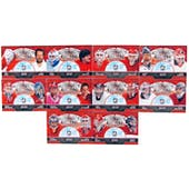 2011/12 ITG Canada vs The World Protecting Canada's Crease Complete 10 Card Set
