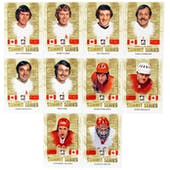 2011/12 ITG Canada vs The World Summit Series Hockey Complete 10 Card Set