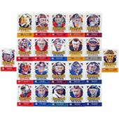 2013-14 ITG Decades 1990s Masks Hockey Complete 22 Card Set
