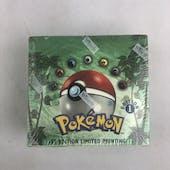 Pokemon Jungle 1st Edition Booster Box WOTC - Blue spot on top