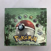 Pokemon Jungle 1st Edition Booster Box WOTC (EX-MT)