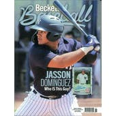 2020 Beckett Baseball Monthly Price Guide (#173 August) (Jasson Dominguez)