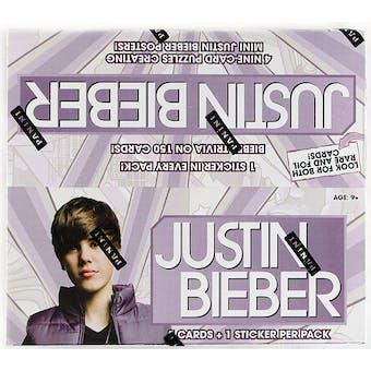 Justin Bieber Hobby Box (2010 Panini)