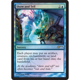 Magic the Gathering Promo Single Show and Tell Foil (Judge)