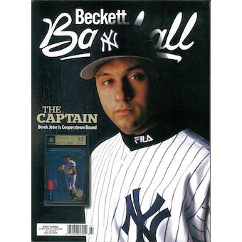 2020 Beckett Baseball Monthly Price Guide (#167 February) (Derek Jeter)