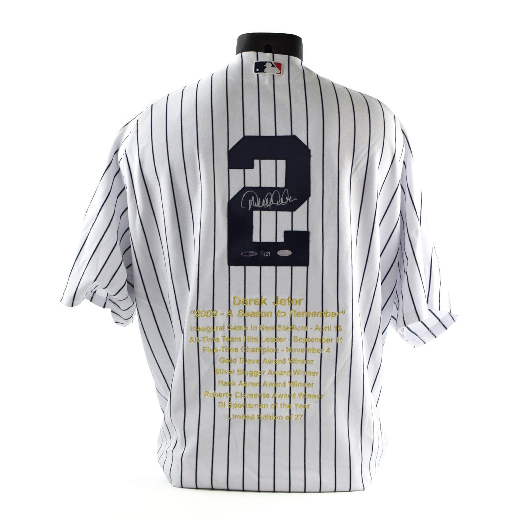 reputable site 28691 aea32 Derek Jeter UDA