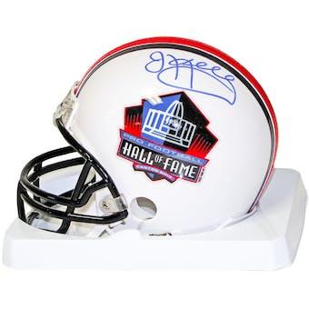 Jim Kelly Autographed Buffalo Bills Hall of Fame Mini Football Helmet