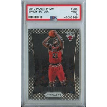 2012/13 Panini Prizm Jimmy Butler PSA 9 card #205