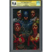 Justice League of America #15 CGC 9.6 (W) Sig Series Cavill, Fisher, Gadot, Miller & Momoa *1589897001*