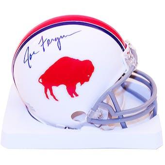 Joe Ferguson Autographed Buffalo Bills Throwback 65-73 Mini Football Helmet