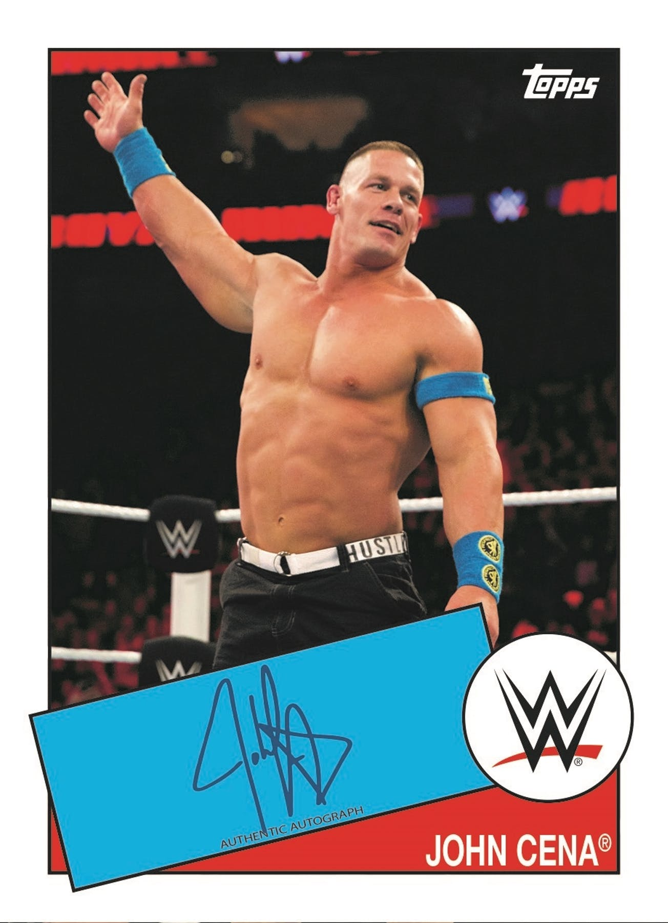 2015 Topps WWE Heritage Wrestling Hobby Box | DA Card World