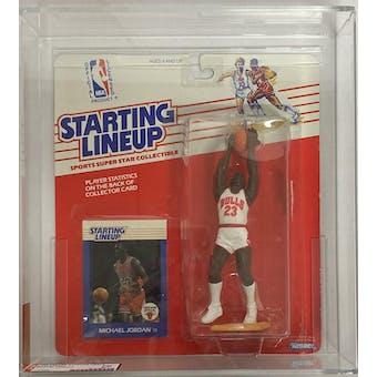 1988 Kenner Starting Lineup Michael Jordan AFA 70 EX+ (Clear Bubble) (Reed Buy)