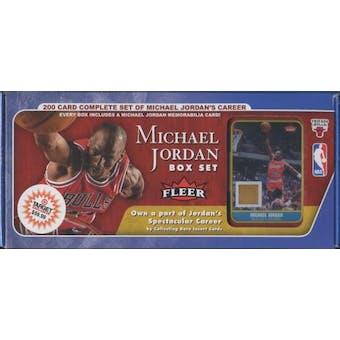 2007/08 Fleer Basketball Michael Jordan Factory Set (UD)