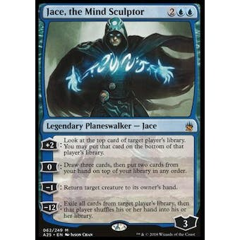 Magic the Gathering Masters 25 Single Jace, the Mind Sculptor NEAR MINT (NM)