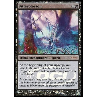 Magic the Gathering Judge FOIL Single Bitterblossom - NEAR MINT (NM)