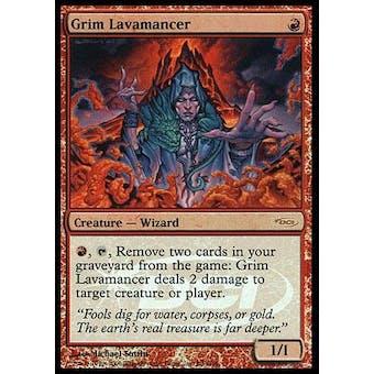 Magic the Gathering Promotional Single Grim Lavamancer Judge Foil - SLIGHT PLAY (SP)