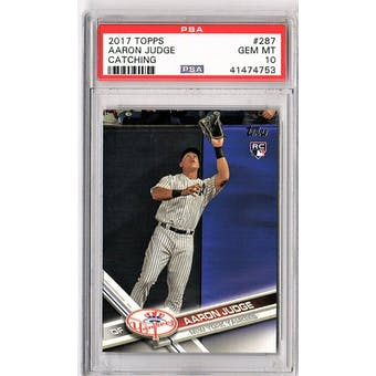 2017 Topps Aaron Judge PSA 10 card #287