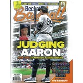 2019 Beckett Baseball Monthly Price Guide (#163 October) (Aaron Judge)
