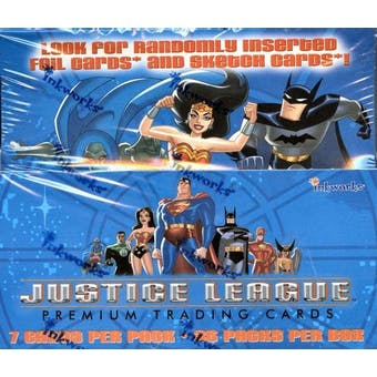 Justice League Hobby Box (2003 Inkworks)