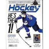 2019 Beckett Hockey Monthly Price Guide (#323 July) (Kaapo Kakko)