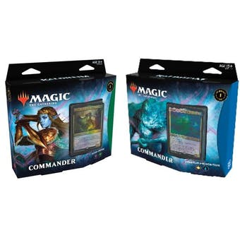 Magic the Gathering Kaldheim Commander Deck - Set of 2