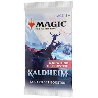 Magic the Gathering Kaldheim Set Booster Pack