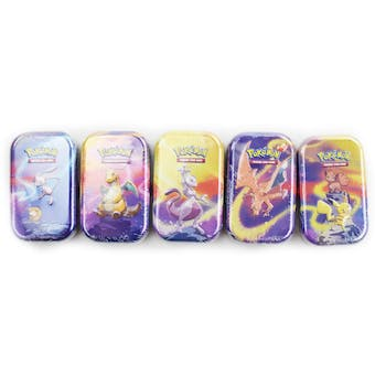 Pokemon Kanto Power 5 Tin Set