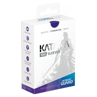 Ultimate Guard Katana Deck Protectors - Blue (100)