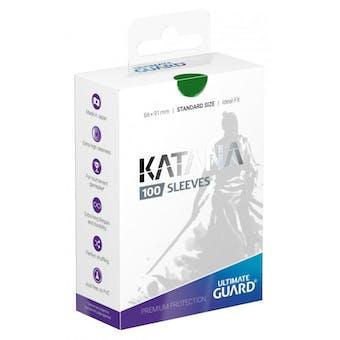 Ultimate Guard Katana Deck Protectors - Green (100)