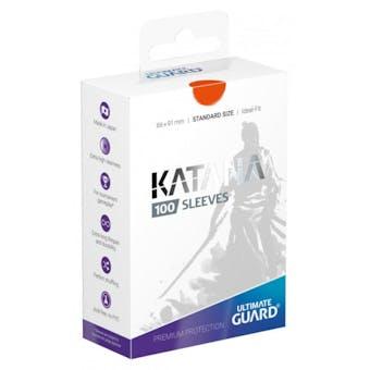 Ultimate Guard Katana Deck Protectors - Orange (100)