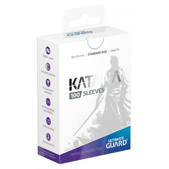 Ultimate Guard Katana Deck Protectors - White (100)