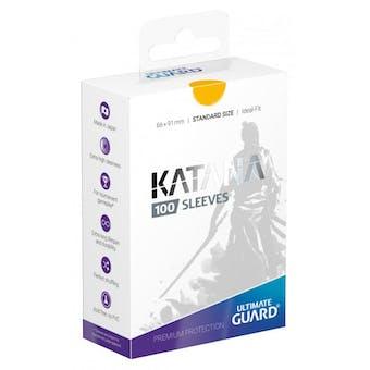Ultimate Guard Katana Deck Protectors - Yellow (100)