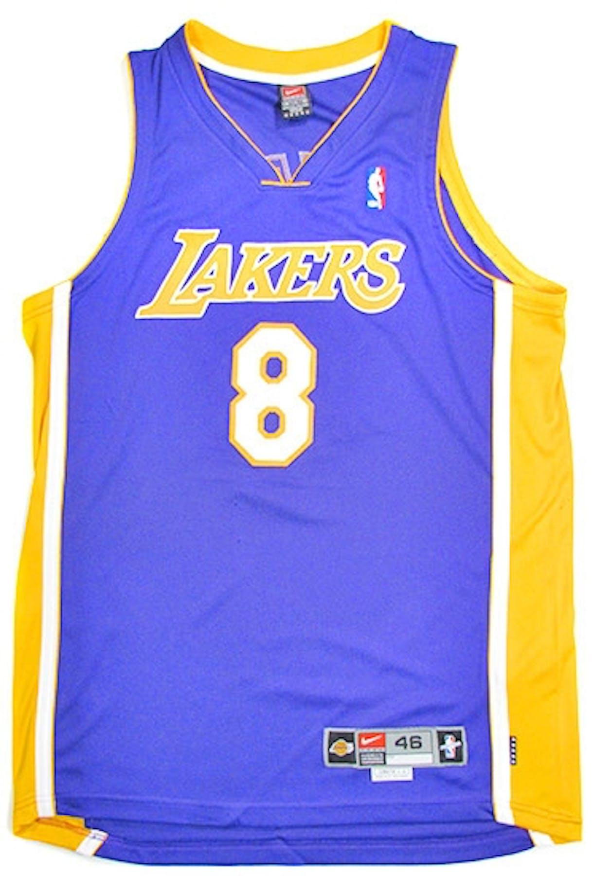 1fea4e592d7a Kobe Bryant Autographed L.A. Lakers Authentic Purple Jersey (UDA ...
