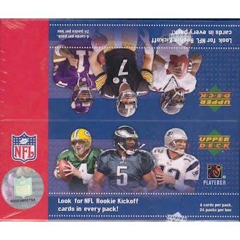 2005 Upper Deck Kickoff Football Hobby Box