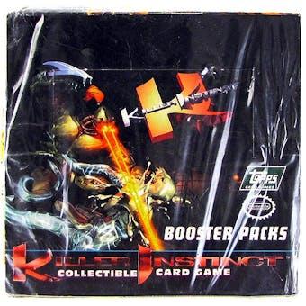 1996 Topps Killer Instinct Collectible Card Game Box