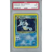 Pokemon Neo Genesis Kingdra 8/111 Holo Rare PSA 9