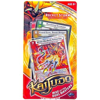 Kaijudo Rise of the Duelmasters Rocket Storm Deck - 25 Deck Lot