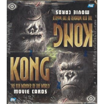 King Kong The 8th Wonder of the World Hobby Box (2005 Topps)