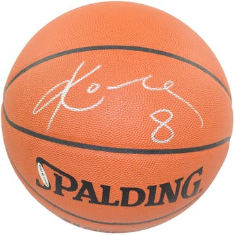 Kobe Bryant Los Angeles Lakers Autographed Official Game Basketball (UDA)