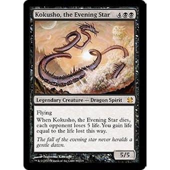 Magic the Gathering Modern Masters Single Kokusho, the Evening Star - NEAR MINT (NM)