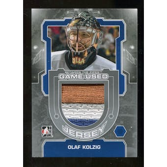 2012/13 In the Game Between The Pipes Jerseys Silver #M37 Olaf Kolzig /140