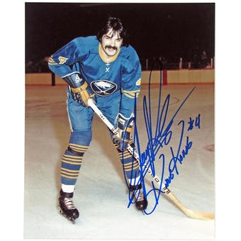 Jerry Korab Autographed Buffalo Sabres 8x10 Posed Photo