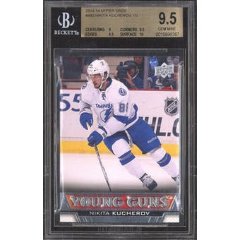 2013-14 Upper Deck Young Gun Nikita Kucherov BGS 9.5 card #483