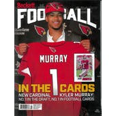 2019 Beckett Football Monthly Price Guide (#342 July) (Kyler Murray)